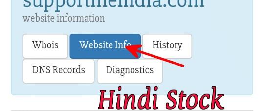Kisi bhi website ki detail check kare online