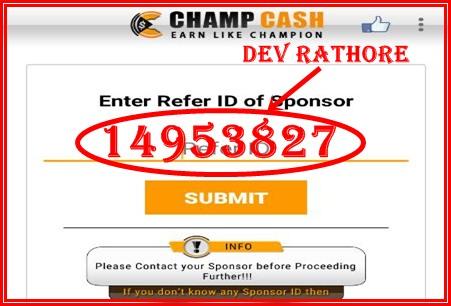 champcash sponser