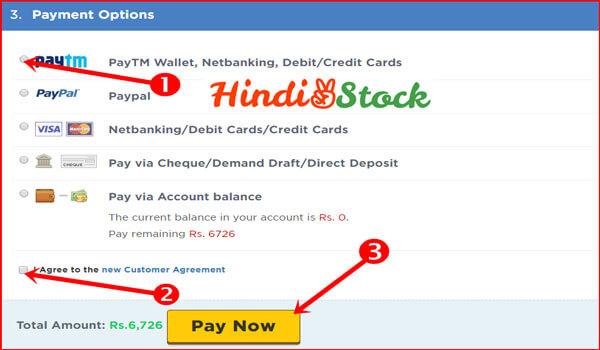 hostgator hosting payment option